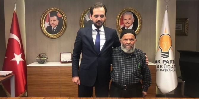 """""""Laiklik elden gidiyor"""" diyen amcaya AK Parti sahip çıktı"""
