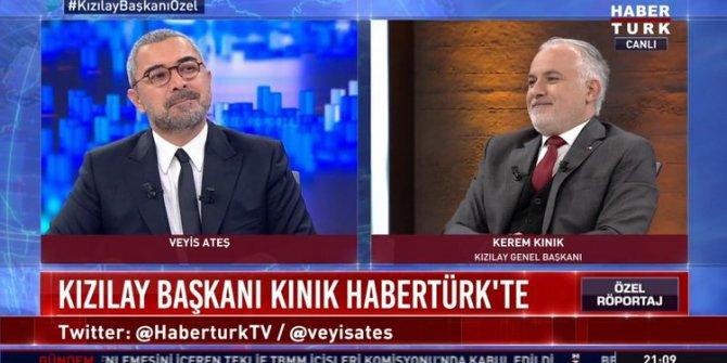 Kızılay Başkanı Kerem Kınık'tan Ensar Vakfı'na bağış yaptığı iddialarına açıklama