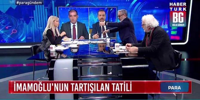 Hadi Özışık, Bülent Aydemir ile tartışması sonucu canlı yayını terk etti!