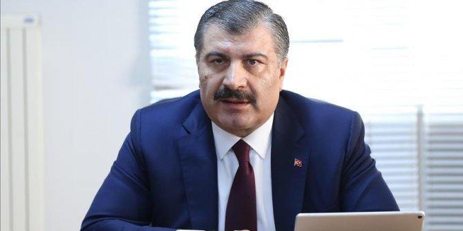 Bakan Fahrettin Koca'dan Koronavirüs açıklaması: ''Türkiye'de tanısı yok''