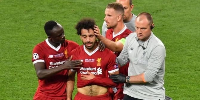 Mohammed Salah sakatlanma anı - İzle