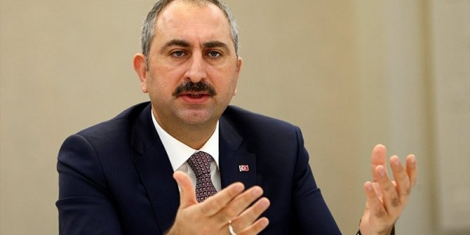 Adalet Bakanı Gül'den Ceza İnfaz düzenlenmesine ilişkin açıklama
