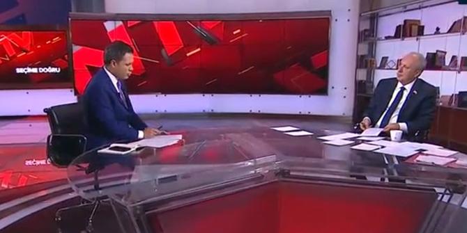 Muharrem İnce'ye NTV yayınında peşpeşe yalanlama