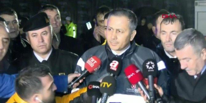 Vali Yerlikaya'dan Sabiha Gökçen'de yaşanan uçak kazasıyla ilgili açıklama