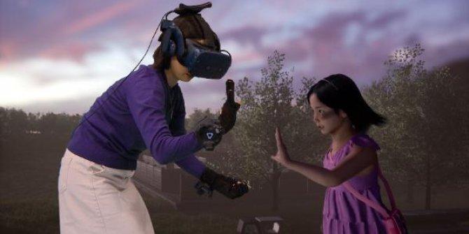 Anne ölen kızına ''sanal gerçeklik'' ile kavuştu! Gözyaşları sel oldu
