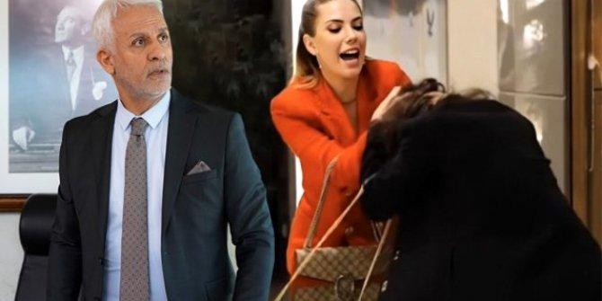 Yasak Elma dizisinde Yıldız'ın Leyla'ya saldırma anı twitter da trend oldu!