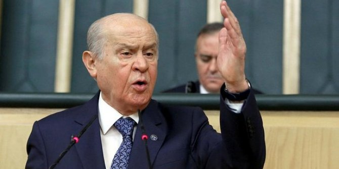 MHP lideri Bahçeli sert konuştu: ''Yansın Suriye, yıkılsın İdlib, kahrolsun Esad