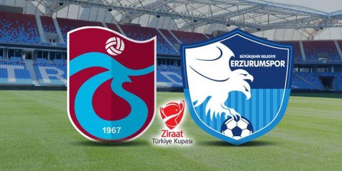 BB Erzurumspor - Trabzonspor maçında ilk gol geldi!