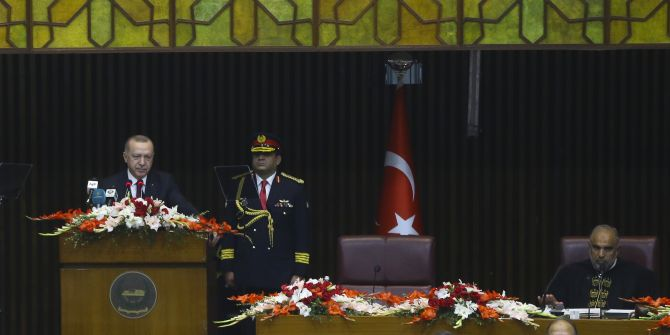Cumhurbaşkanı Erdoğan Pakistan'dan seslendi: ''Çanakkale neyse Keşmir odur''