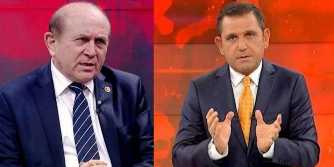 Burhan Kuzu'dan Fatih Portakal'a sert sözler: ''Yaptığın tetikçiliktir