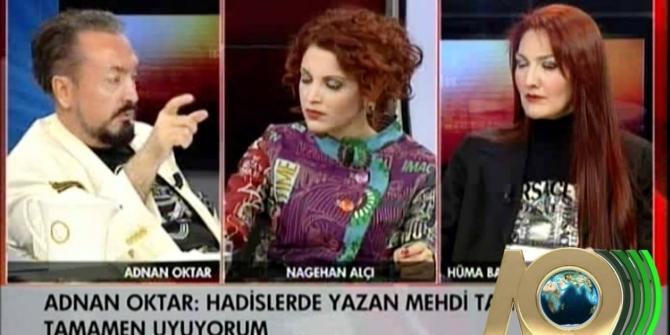 Nagehan Alçı ile Adnan Oktar arasında 'Grup Seks' tartışması