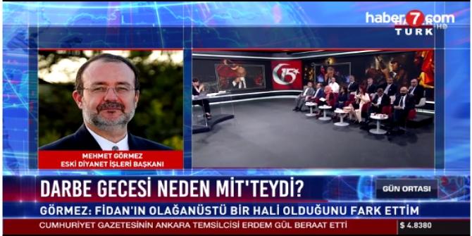 Mehmet Görmez İlk kez 15 Temmuz gecesini anlattı!