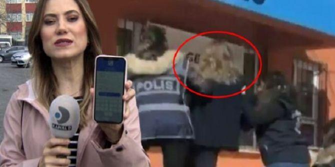 Taciz iddiasını haber yapmak isteyen Kanal D muhabiri gözaltına alındı!