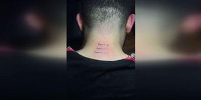 Kadıköy galibiyetini ensesine dövme yaptırdı!