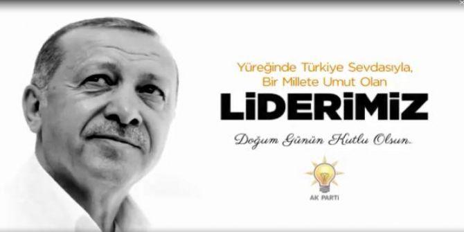Cumhurbaşkanı Erdoğan'ın 66. yaş özel klibi!