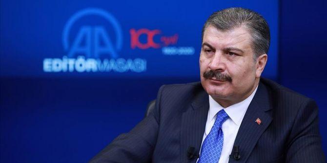 Sağlık Bakanı Fahrettin Koca: ''Koronavirüs bize de her an gelebilir''