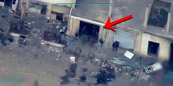 TSK'nın İdlib'deki rejim unsurlarını bombaladığı en net görüntüler!