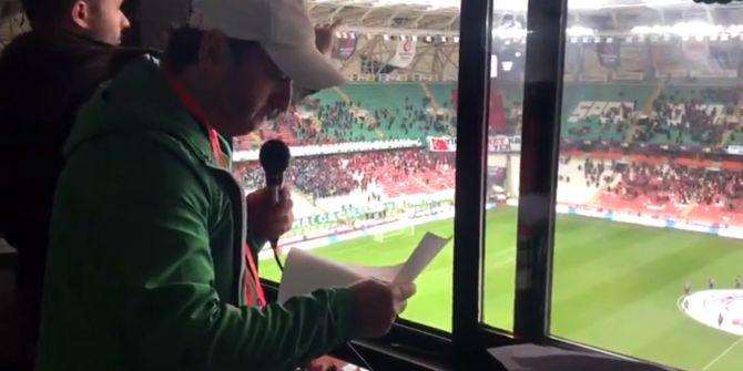 Konyaspor-Kasımpaşa maçı öncesi şehitlerin isimleri okundu!