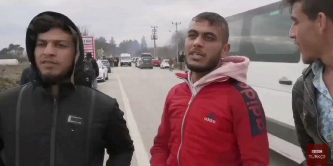 Suriyeli gençlerden Türk askerlerine tepki: ''Sanki biz dedik Suriyeye gidin''