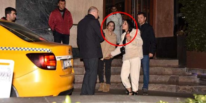 Helin Avşar sarhoş haliyle gazetecilerle kavga etti!