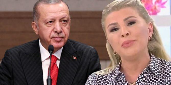 Nuray Sayarı canlı yayında Erdoğan'a seslendi: ''Can tehlikesi taşıyorum''