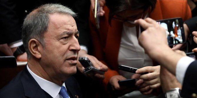 Bakan Akar'dan Erdoğan-Putin görüşmesi ile ilgili kritik açıklama