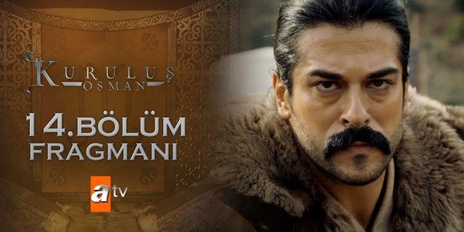 Kuruluş Osman 14. Bölüm fragmanı yayınlandı