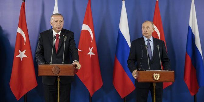 Cumhurbaşkanı Recep Tayyip Erdoğan, Putin görüşmesi için Moskova'da
