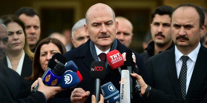 Süleyman Soylu'dan TELE1 muhabirine sert çıkış: 'Ben yalan konuşuyorum öyle mi?'