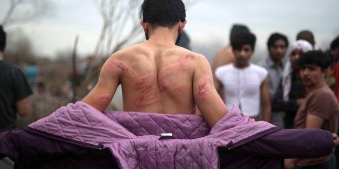 Yunanlı askerler dövdüğü göçmenleri Türkiye'ye çıplak gönderdi