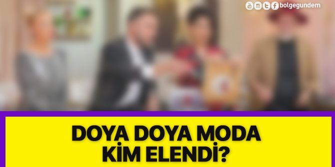 Doya Doya Moda 75. bölümde 3 yarışmacı elendi!