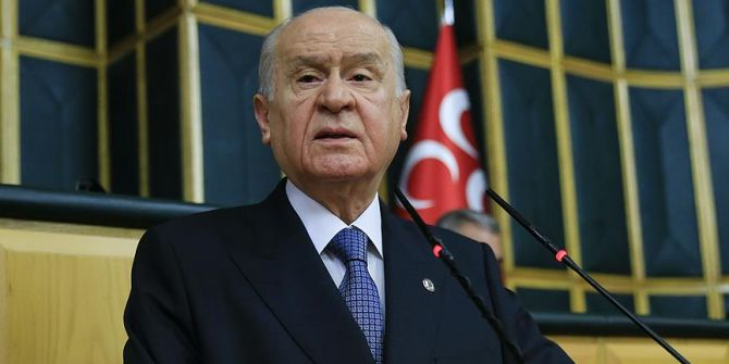 Devlet Bahçeli: ''Sığınmacıların maruz kaldıkları trajedi, barbarlıktır''
