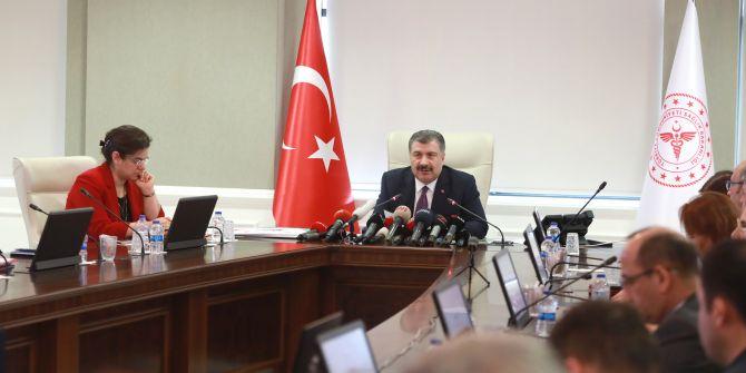 Bakan Koca: ''Koronavirüs'ün Türkiye'de olma ihtimali çok yüksek''