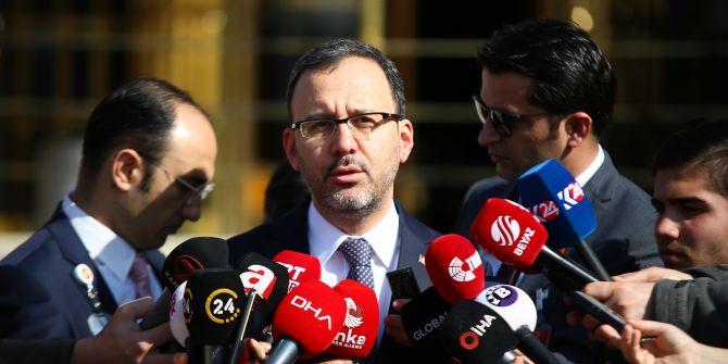Spor Bakanı Mehmet Muharrem Kasapoğlu'ndan koronavirüs açıklaması!