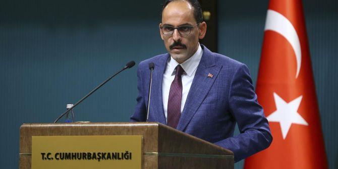 Cumhurbaşkanlığı Sözcüsü İbrahim Kalın'dan koronavirüs tatili açıklaması