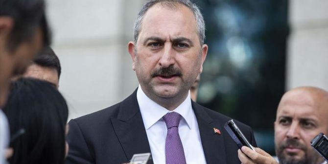 Adalet Bakanı Gül yargıda koronavirüs önlemlerini açıkladı