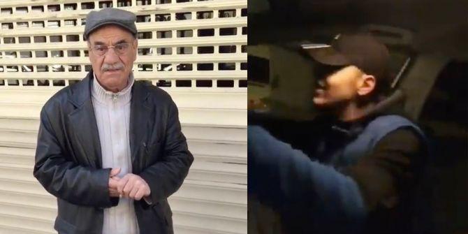 Kendilerini polis diye gösterdiler! Yaşlı amcayla dalga geçtiler