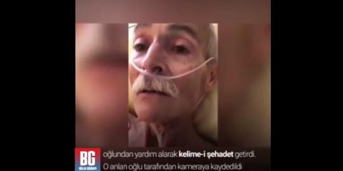 Yaşlı alman vatandaşı son nefesinde müslüman oldu