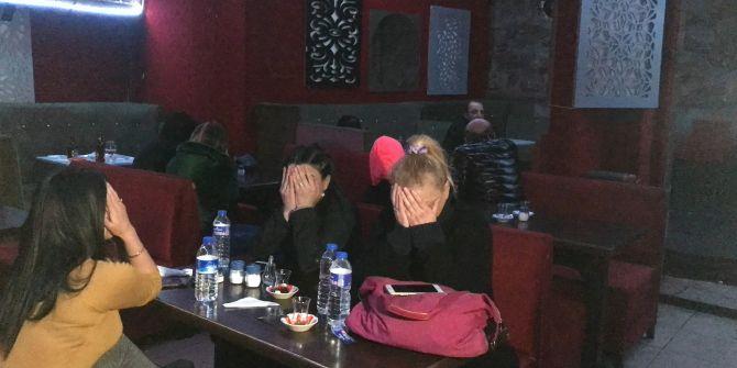 Bursa'da gece kulübü operasyonu! 20 gözaltı