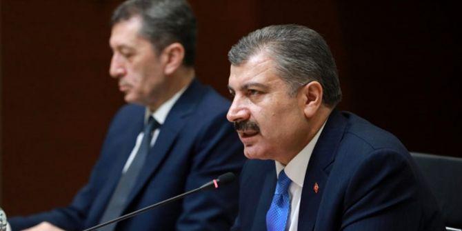 Sağlık Bakanı Fahrettin Koca, koronavirüse ilişkin son rakamı açıkladı!