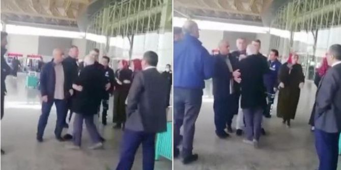 Manisa Otogar'da polisin yaşlı bir adamla olan kavgası büyük tepki topladı