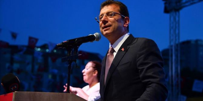 İBB Başkanı İmamoğlu: ''İstanbul için sokağa çıkma yasağı ilan edilmeli''