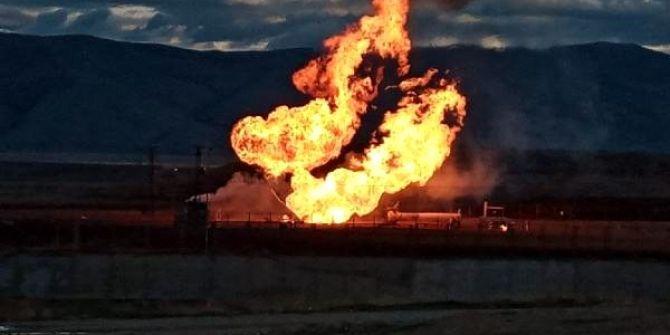 Türkiye-İran doğalgaz boru hattında korkunç patlama!