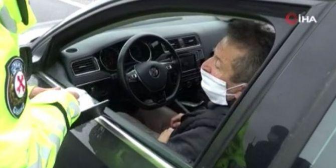 Trafik denetiminde ceza kesilen 76 yaşındaki şahıstan ilginç savunma!