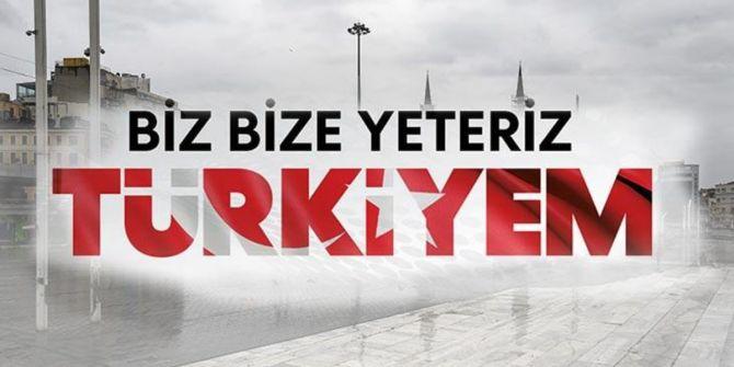 Biz Bize Yeteriz Türkiyem video klibi yayınlandı!