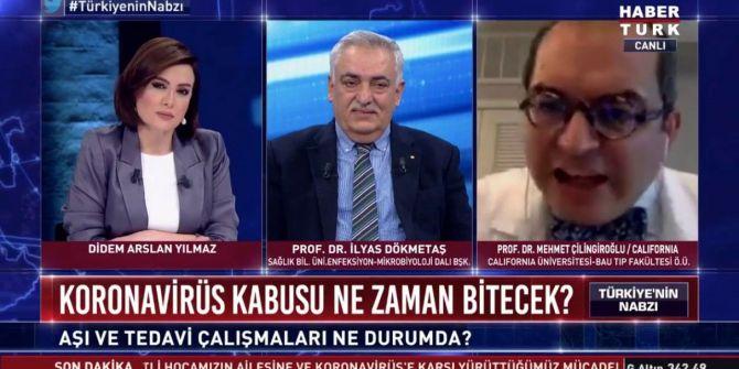 Mehmet Çilingiroğlu, Habertürk canlı yayınını terk etti!