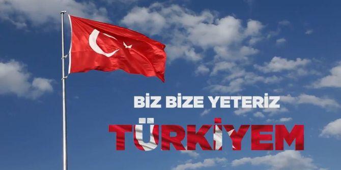 İletişim Başkanı Fahrettin Altun'dan ''Biz Bize Yeteriz Türkiyem''' paylaşımı!