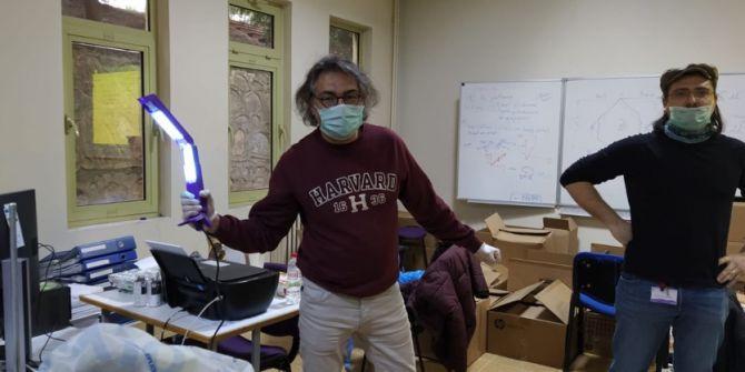 Türk bilim insanları geliştirdi! Koronavirüs 15 saniyede yok oluyor