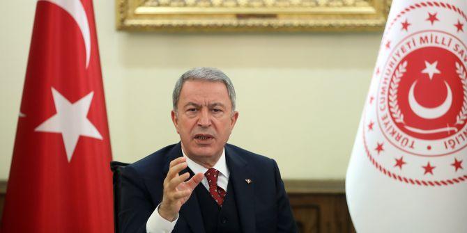 Milli Savunma Bakanı Akar'dan koronavirüs açıklaması