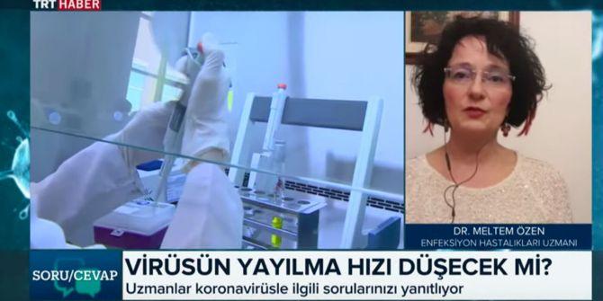 Uzman Dr. Meltem Özen'den canlı yayında koronavirüs ile ilgili korkunç iddia!